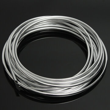 5m DIY Silver Car Door Edge Protector Anti-Collision Strip Seal Trim Molding Guards