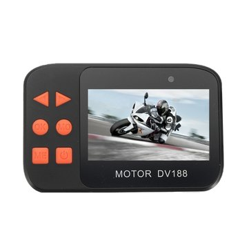2.7inch 1086P Dual FHD Video Camera Night Vision DVR Waterproof For Motorcycle Car