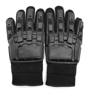 Universal Full Finger Cool Safety Men Racing Gloves Motorcycle Gloves Cycling Motor Bike