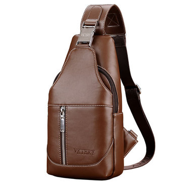 Mannen Sling Bag Chest Pack Zakelijke Casual Multi Purpose Rugzak Crossbody Schoudertas