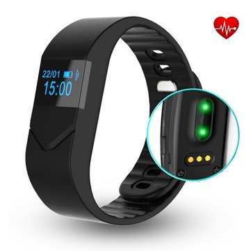 Heart Rate Monitor Bluetooth Smart Bracelet Pedometer Calorie Counter Track Wristband