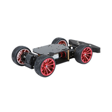 6-12V 4-Wheel Chassis Smart Robot Car With Motor & MG996R Servo for Arduino
