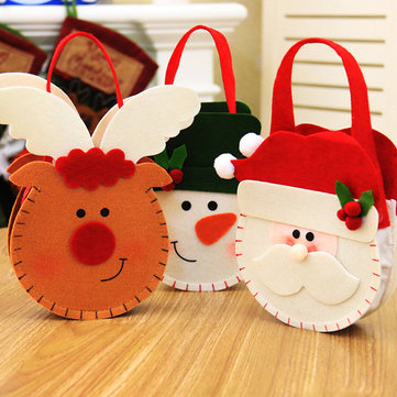 Creative Cartoon Christmas Gift Bag Candy Bag Apple Gift Bag For Women Men