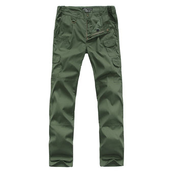 Mens Military Tactical Outdooors Climbing Pants Multi Pockets Loose Cargo Pants