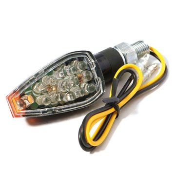 1piece 12V Amber ATV Motorcycle LED Turn Signal Light