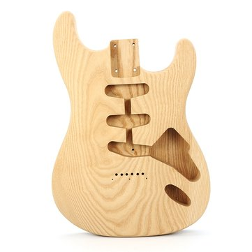 DIY Electric Guitar Wood Body Fraxinus Spp Body for Fender ST Style Guitar Parts