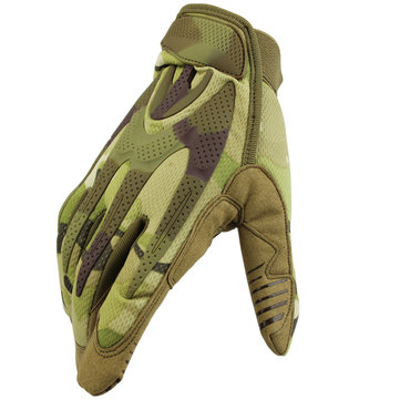 Full Finger Tactical Gloves Outdoor Training Military Protective Army CS Gloves Camping Hunting