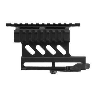 Quick Release Picatinny Weaver Rail QD Double Side Scope Mount Accessories