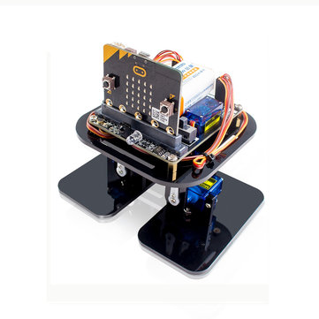 SunFounder Sloth: bit Humanoid Robotics Learning Kit with Micro: bit Development Board Support APP Programming & Obstacle Avoidance