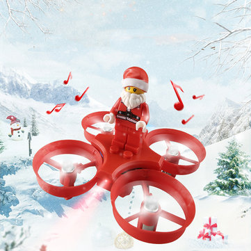 Eachine E011C Flying Santa Claus With Christmas Songs 716 Motor Headless Mode...