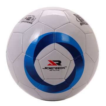 JOEREX 5# Standard PU Soccer Light Weight Seamless Durable Student School Training Football