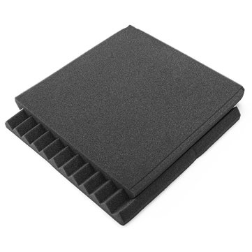 24Pcs Soundproof Foam Acoustic Studio Room KTV Sound-Absorbing Noise Foam Tiles Sponge Panel