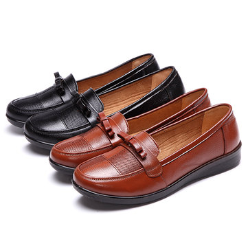 US Size 5-10 Flat Loafer Shoes Women Soft Slip On Casual Outdoor Shoes