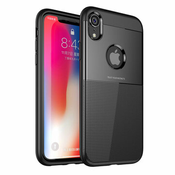 Bakeey Protective Case for iPhone XR Armor Anti Fingerprint Hybrid PC & TPU Back Cover
