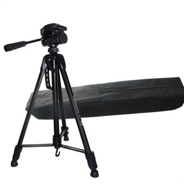 Yingnuo Portable Professional Aluminum Alloy Tripod for DSLR Camera