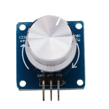 5Pcs Adjustable Potentiometer Volume Control Knob Switch Rotary Angle Sensor Module For Arduino