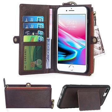 Men Women Phone Bag Retro Fashion Wallet For iPhone6/6 Plus/6s/6s Plus/7/7Plus/8/8 Plus/X
