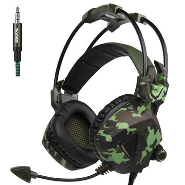 Sades SA-931 Stereo Deep Bass Gaming Headset Headphone with Microphone