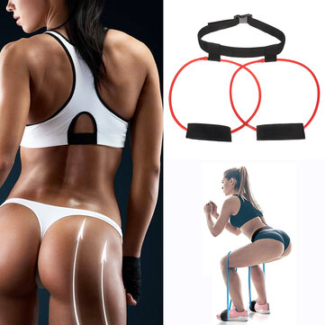 KALOAD Women 20lb Hip Trainer Butt Booty Belt Band Body Glute Muscles Trainer Lifter Exercise