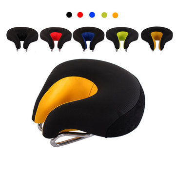 MTB Mountain Cycling Split Nose Bicycle Saddle Ergonomic Bike Seat Cushion Pad