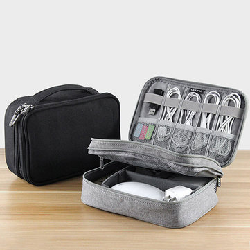 Men Women Multifunction Double Layer Storage Bag