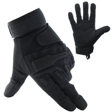 Four Seasons Gloves Fishing Motorcycle Motor Bike Outdoor Skiing Climbing Black M L XL