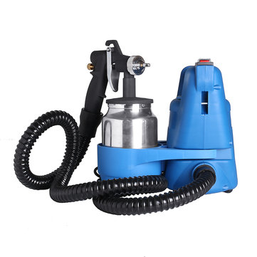 650W Electric Paint Sprayer System Spray Gunt Sprayer System Spray Gun Painting Fence Bricks Outdoor