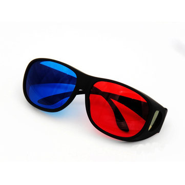 1Pcs Blue Red 3D Dimensional 3D Glasses For Home Theater Movie Cinema Game Projector Use