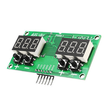 5Pcs Square Wave Signal Generator Stepping Motor Drive Module PWM Pulse Frequency Duty Cycle Adjustable