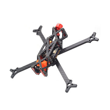 $32.49 For FlyFox No.X 210mm 5 Inch Carbon Fiber Frame Kit 5mm Arm