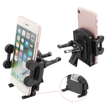 Universal Car Air Vent Holder Durable Phone Bracket Car Outlet Mount for Phone GPS under 6 inches