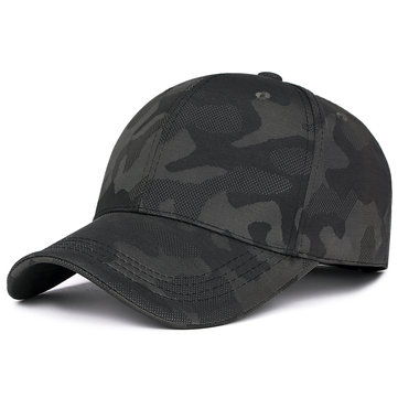 Men Outdoor Casual Camouflage Baseball Cap Sunshade Adjustable Golf Hat