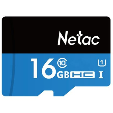 Netac P500 16GB UHS-I U1 SDHC Storage Memory Card TF Card For Mobile Phone