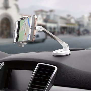 BASEUS Folding Desktop Car Dashboard Navigation Sucker Support Holder Stand For iPhone Samsung