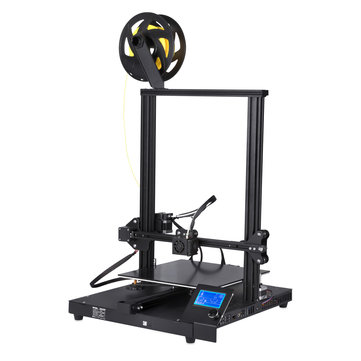 CREASEE® CS-10 3D Printer Kit Support Power Off Resume Print/Filament Run-out Detection with 300*300*400mm Printing Size/Dual Z-Axis