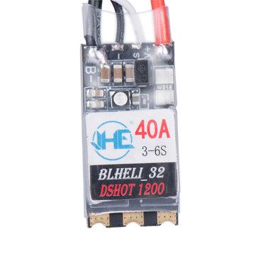40A 3-6S Blheli 32 Brushless ESC Dshot1200 Ready RGB LED for RC Drone FPV Racing