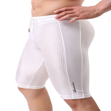Mens Casual Mesh Breathable Shorts