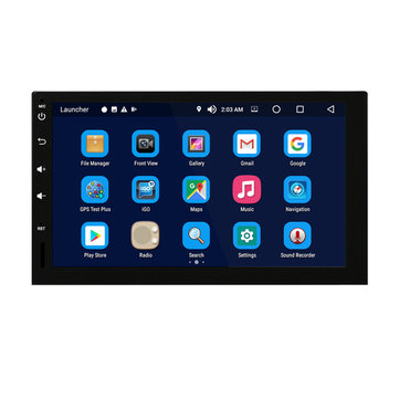 MD-RT1009 Android 8.0 Car Radio Stereo 7 Inch Capacitive Touch Screen Car GPS Navigation