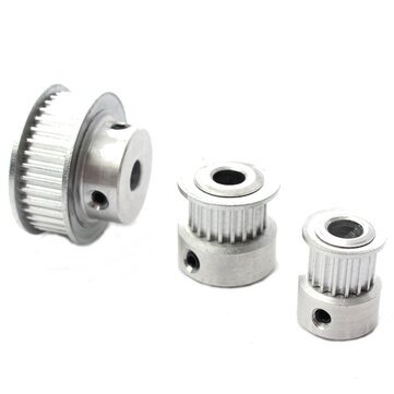 16/20/36T GT2 Aluminum Timing Drive Pulley For DIY 3D Printer