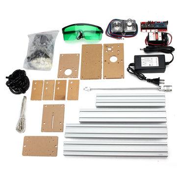 500MW Min Laser Engraving Machine DIY kit Desktop Laser Cutting 200X170mm Engraving Area