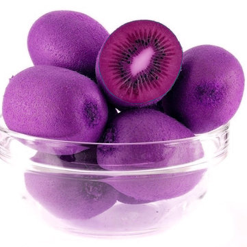 Egrow 10Pcs/pack Purple Heart Kiwi Seeds Garden Courtyard Kiwi Fruit Tree Bonsai Seeds