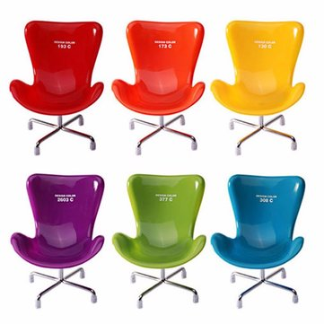 14X10cm Colorful Chair Model Storage Rack Creative Storage Shelves Novelty Home Decoration