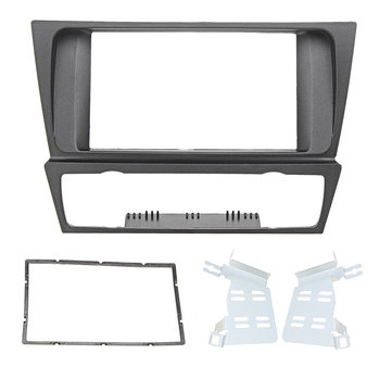 2 DIN Car Stereo Radio Fascia Panel Dashboard Frame For BMW 3 Series (2005 onwards) E90 / E91 / E92 / E93