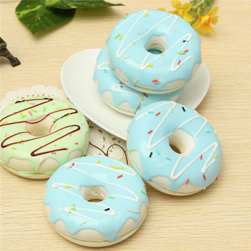 Jumbo 8.5CM Cute Chocolate Donut Cream Scented Simulation Food Bag Phone Strap