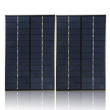 12V/18V 4.2W Mini Polycrystalline Solar Panel For Car Boat Motorcycle Lamp Charging