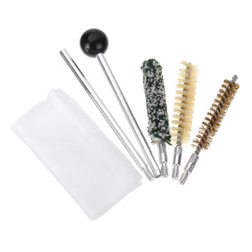 Tool Cleaning Kit Brushes Hand Brass Rods Cleaner Set For Cal.357/38/9mm