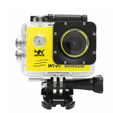 Buy Waterproof SJ8000 Ultra 4K HD 1080P WiFi 2.0Inch LCD Sports Action Mini DV Camera for $42.99 in Banggood store