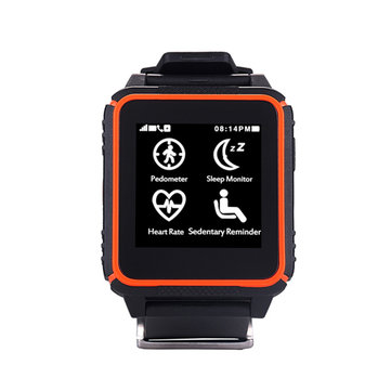 ST500 1.54-inch 240*204 MTK2502C Waterproof Bluetooth Smart Watch