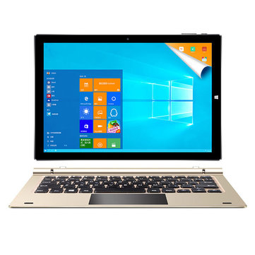 Original Box Teclast Tbook 10 S 64GB Intel Atom X5 Z8350 Dual OS 10.1 Inch Tablet PC with Keyboard