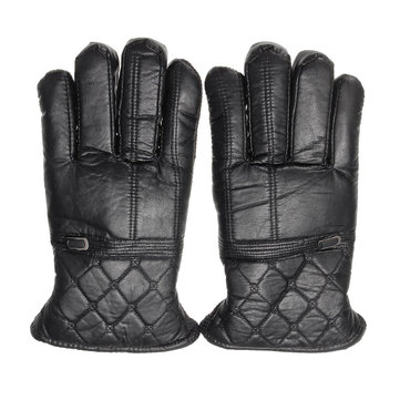 YZ001 Anti-Slip Full Finger Cycling Gloves Windproof Waterproof Thickened Men 3Colors Outdoor